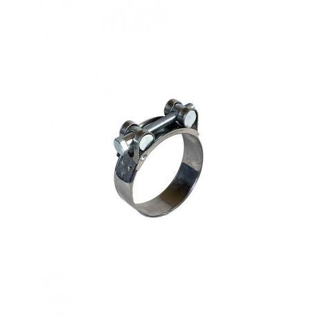 Collier de serrage renforcé Inox 60-63 mm