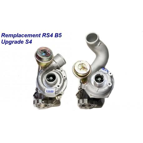 Turbo Upgrade de Audi RS4 B5 V6 2.7 Bi-Turbo 380 cv pour S4 265 cv