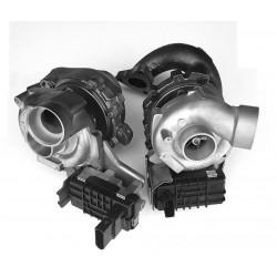 Twin Turbo Hybride Mercedes V8 4.0D 420 CDI (côté droit + gauche)
