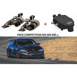 Pack Compétition 600 cv pour BMW M3/M4 F80-82-83 bi-turbo