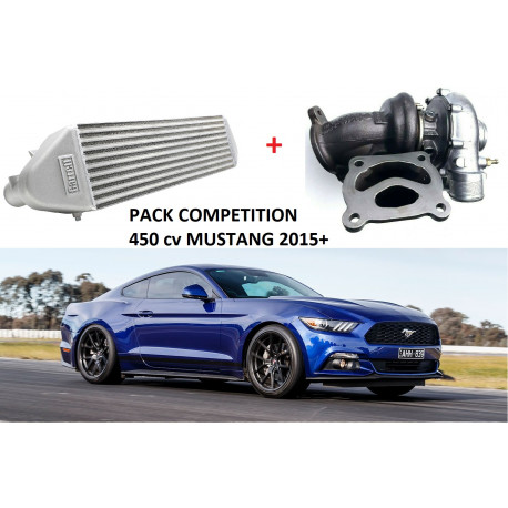 Pack Compétition 450 cv pour Ford Mustang 2.3 Ecoboost 2015+