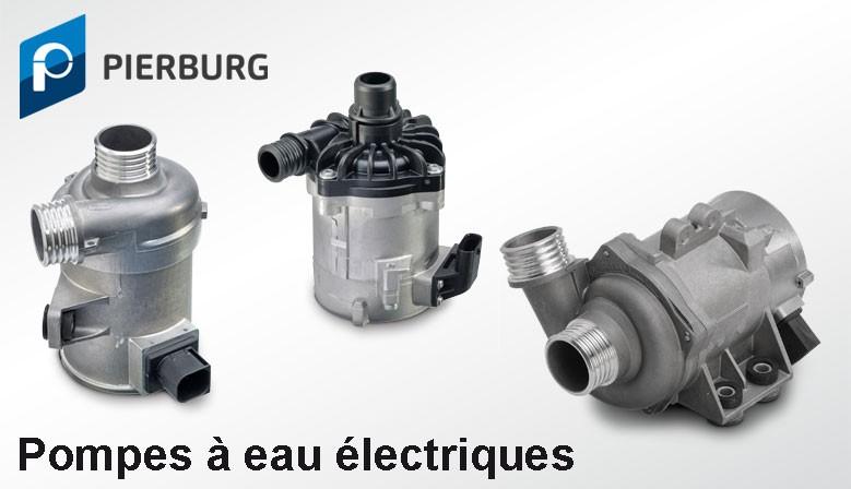 Gamme Pompes à eau électriques Pierburg