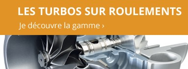 Turbos sur roulements